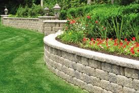 Small Garden Retaining Wall Ideas Retaining Wall Blocks 2015 Landscape Design Ideas
