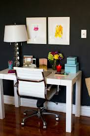 how to clean dining room chairs beautiful clean home office space the white table chair and lamp