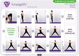 Chair Yoga Class Sequence 20 Minute Yoga Day U2013 Class 4 Balancing Live Yoga Life