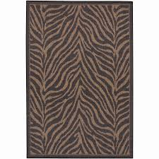 Brown Zebra Area Rug Simple Large Zebra Print Rug Zebra Print Rug Will Add An