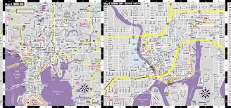 Map Of Clearwater Beach Florida by Streetwise Tampa Map Laminated City Center Street Map Of Tampa
