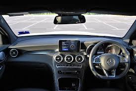mercedes dashboard test drive review mercedes benz glc 250 4matic autoworld com my