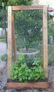 Garden Netting Trellis Build A Trellis Using Sturdy Materials Like 2 X 4 U0027s And Hardware