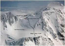 Denali National Park Map Fatal Fall At Denali Pass Denali National Park U0026 Preserve U S