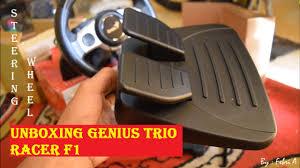 cara buat car xshot unboxing steering wheel genius trio racer f1 bahasa indonesia youtube