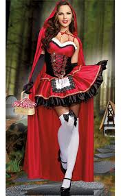 little red riding hood costume n8926