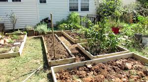 kitchen gardens design raised garden bed plans vegetable design nofancyname co