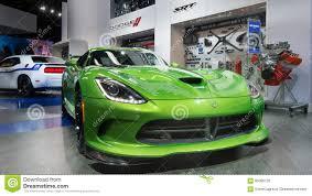 Dodge Viper Green - srt dodge viper editorial image image 65085720
