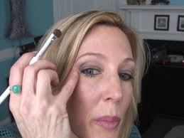 middle age women with blue hair smokey eye tutorial for women over 50 with hooded crepey eyelids