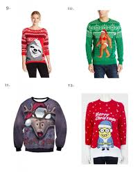 the ugliest christmas jumpers to buy this year