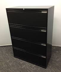 black lateral file cabinet four drawer lateral filing cabinets