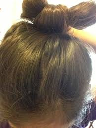 bow hair how to make a bow out of your hair 14 steps wikihow