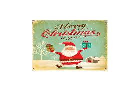 merry christmas signs christmas metal signs the metal sign shack