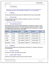 deployment plan template