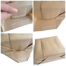 brown paper wrapping to wrap a gift with brown paper