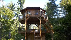 Treehouse Living I Played Out My Childhood Dream Of Living In A Treehouse Curbed