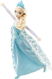 amazon com mattel disney frozen singing elsa doll toys u0026 games