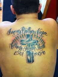 death quote tattoos loved ones 19 my brothers keeper tattoo with powerful meanings tattoos win