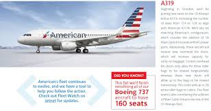 American Airlines Help Desk Us Airways A319s Will Be Getting New Seats Extra Legroom Starting