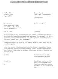 Business Proposal Letter Format formal business complaint letter format compudocs us