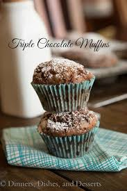 chocolate muffins 12 days of giveaways dinners dishes