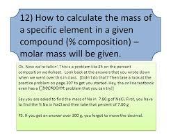 ch 10 test hints u2013 chemistry ppt video online download