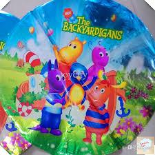 Backyard Cartoon New Arrive Backyard Gans Balloon Foil Balloon Birthday Party