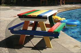 Folding Picnic Table With Benches Aluminum Picnic Table Legs Full Size Of Swimming Garden Picnic