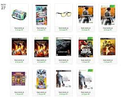amazon black friday dealz amazon black friday week video game spotlight deals wed nov 27