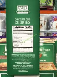 tate s cookies where to buy tate s bake shop chocolate chip cookies 21 ounce box costcochaser