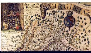 Virginia Colony Map by Maps