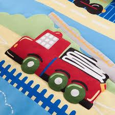 Monster Truck Bed Set Shop Mizone Kids Totally Transit Trucks Cars U0026 Planes Bed Set