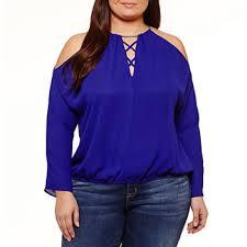purple blouse plus size plus size purple tops for jcpenney