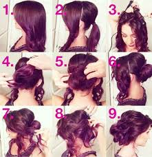 step by step bun hairstyles with pictures newest u2013 wodip com