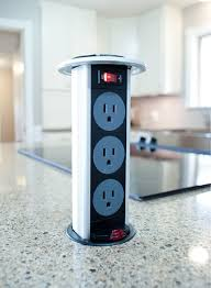 kitchen island outlet electrical popup outlet on kitchen island is it against