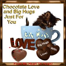 send an ecard chocolate day 7th july send hugs to your lover