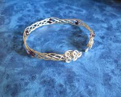 wire woven bracelet images Swardaa 5 strand wire woven bracelet tutorial link JPG