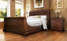 Solid Pine Bed Frame Bedroom Pine Wood Bed Frame Cherry Wood Sleigh Bed Frame Cheap