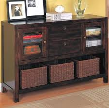 black console table with storage console table with storage baskets console table with storage
