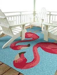 Pink Indoor Outdoor Rug Pink Flamingo Fantasy Indoor Outdoor Rugs Nautical Luxuries