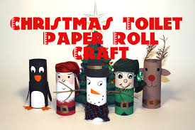 diy christmas decorations recycled toilet paper roll craft youtube