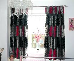 Black Curtains For Bedroom Curtains For Bedroom Royal Velvet Plaza Grommet Top Lined