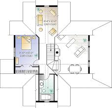 Waterfront Floor Plans Waterfront Cottage With Panoramic Views Throughout The Main Floor