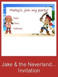 cute cake jake neverland pirates free printables