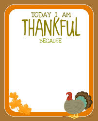 printable i am thankful for thanksgiving happy thanksgiving
