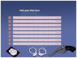 police service powerpoint templates police ppt backgrounds slides