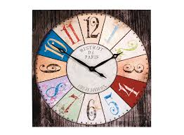 horloge murale d 80cm fly