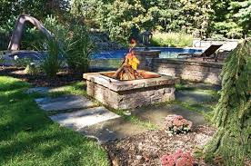 Backyard Fire Pits Designs Nice Decoration Landscape Fire Pits Alluring Outdoor Fire Pit