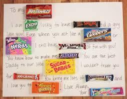 candy bar birthday card for boyfriend candy bar poster ideas with