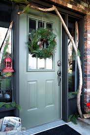 tree farm themed christmas front porchfunky junk interiors